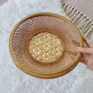 Other - Wicker Catchall Basket